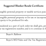 State Tax Forms | FBParts