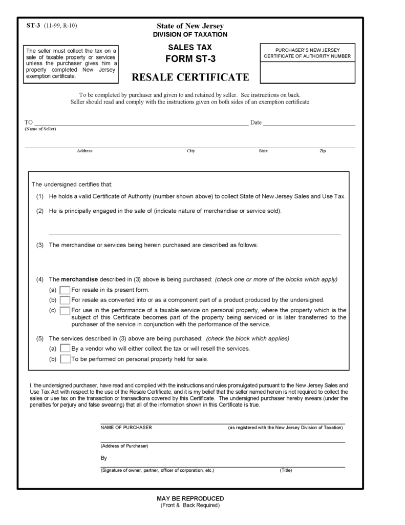 Forms fbparts new jersey sales tax form xflitez Image collections